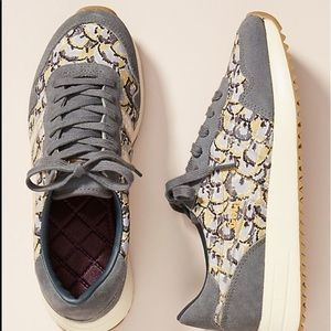 NWOT Anthropologie printed sneakers